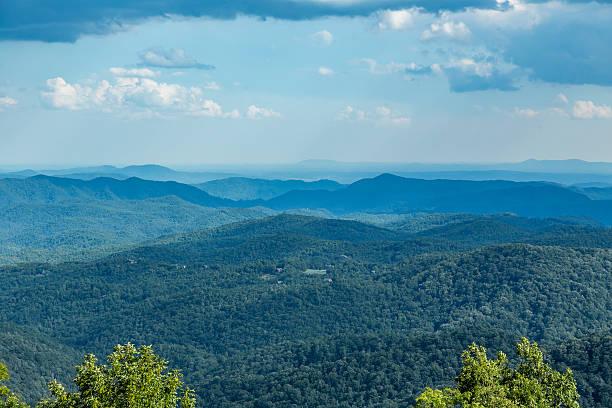 Blue Ridge View stock photo