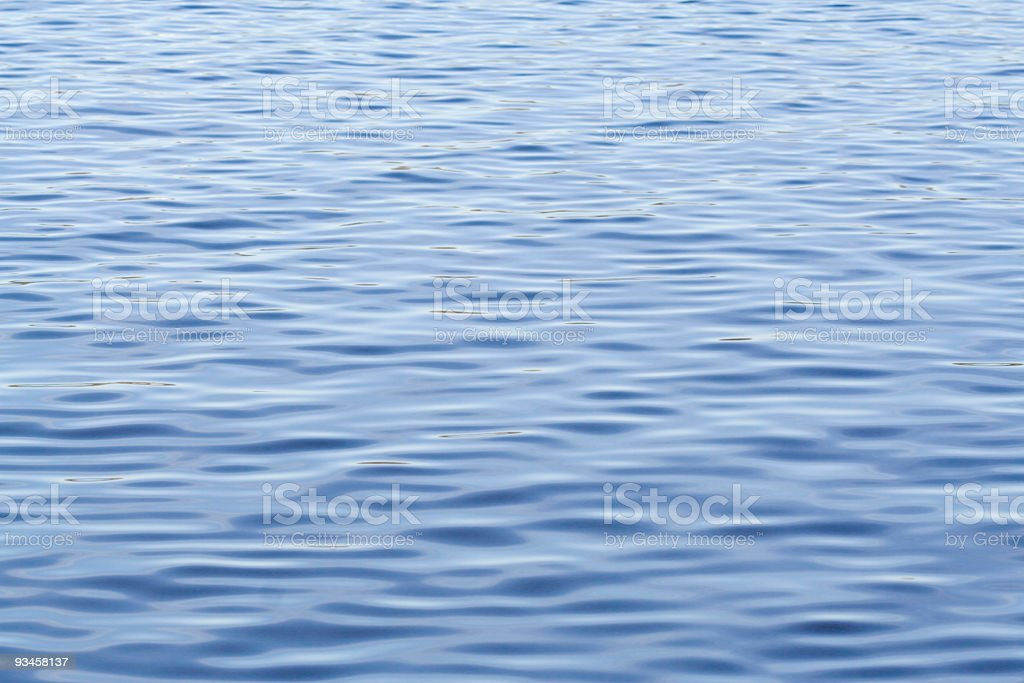 Blue ripples royalty-free stock photo