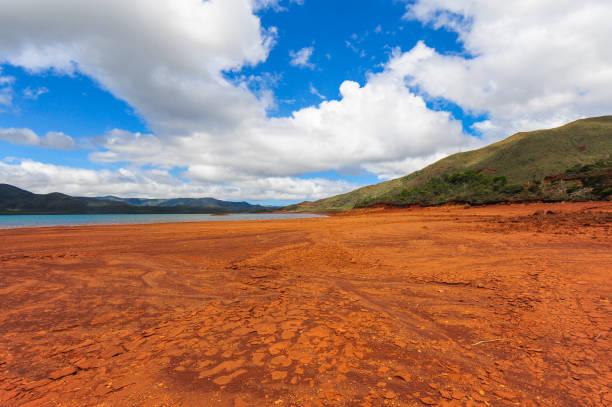 Blue River Park, New Caledonia stock photo