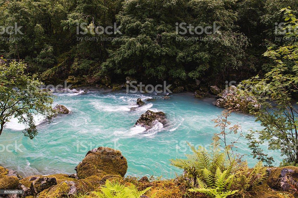Blue river foto royalty-free