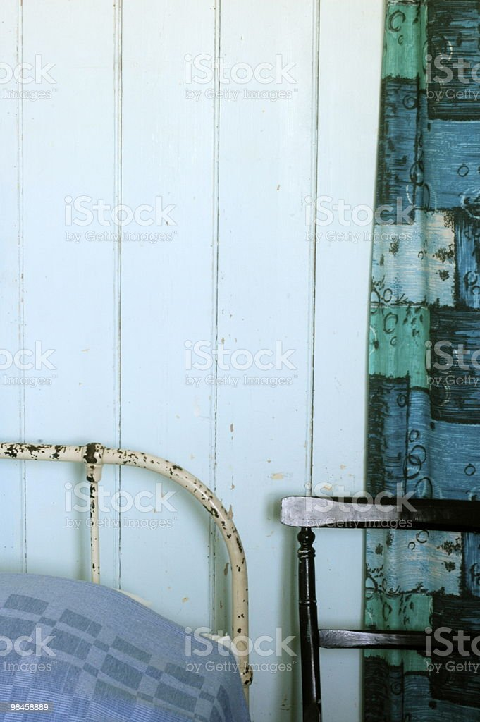 Blue Room royalty-free stock photo