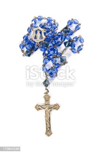 istock Blue Rosary 172844240