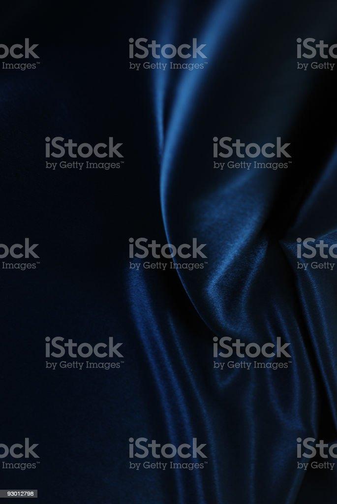 Blue royal fabric royalty-free stock photo