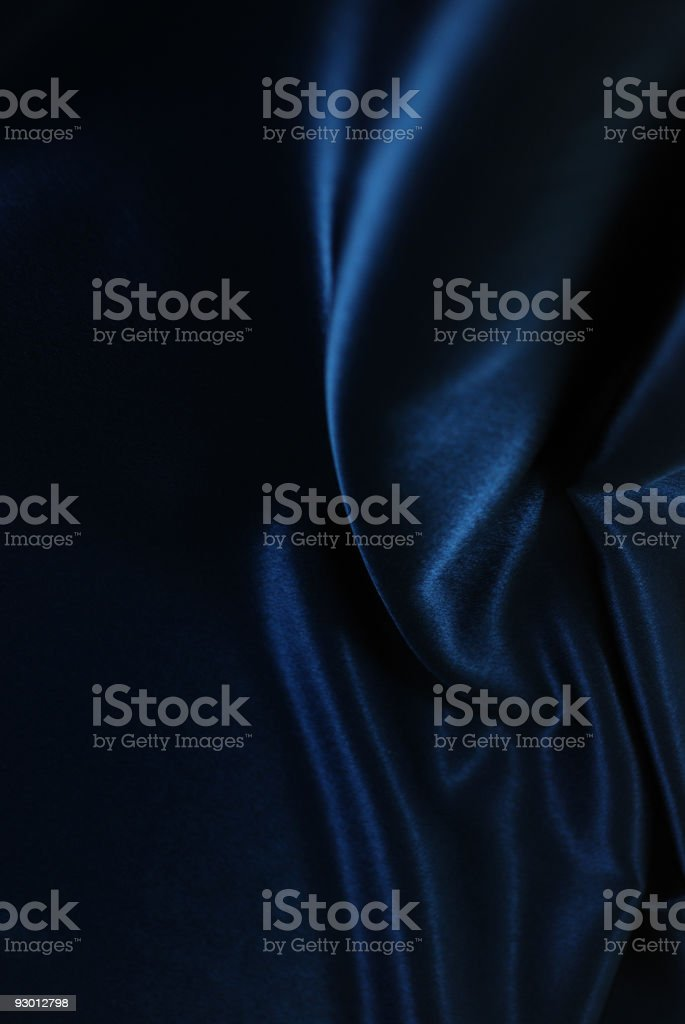 Blue royal fabric stock photo