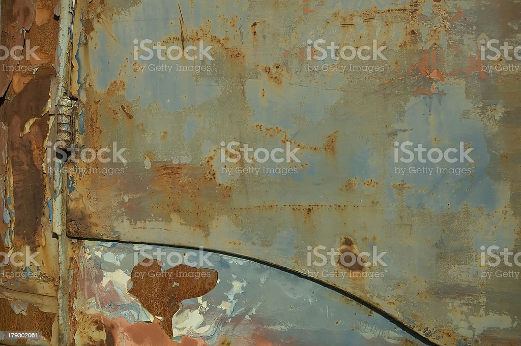 Blue rusty background royalty-free stock photo