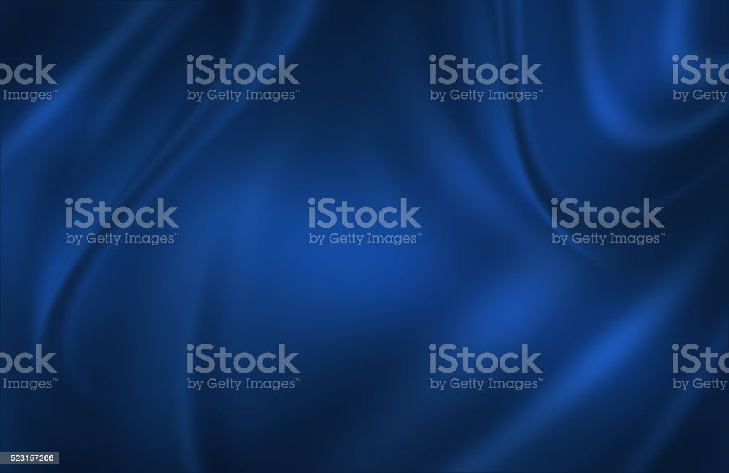 Blue satin cloth background stock photo
