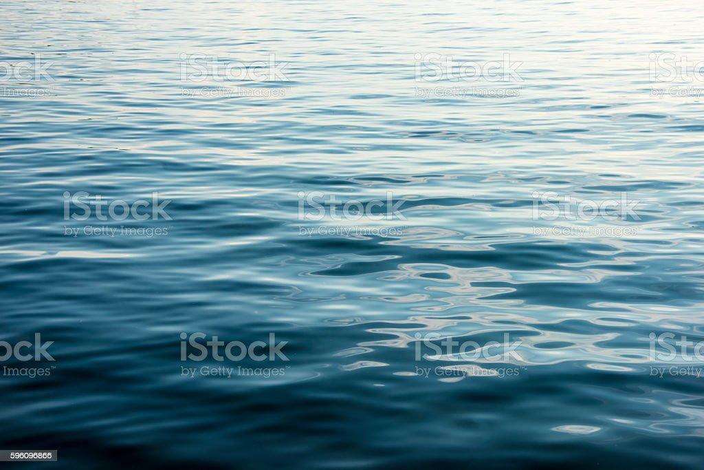 Meer Abstrakter Hintergrund blau Lizenzfreies stock-foto