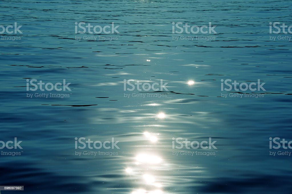 blue sea abstract background royalty-free stock photo