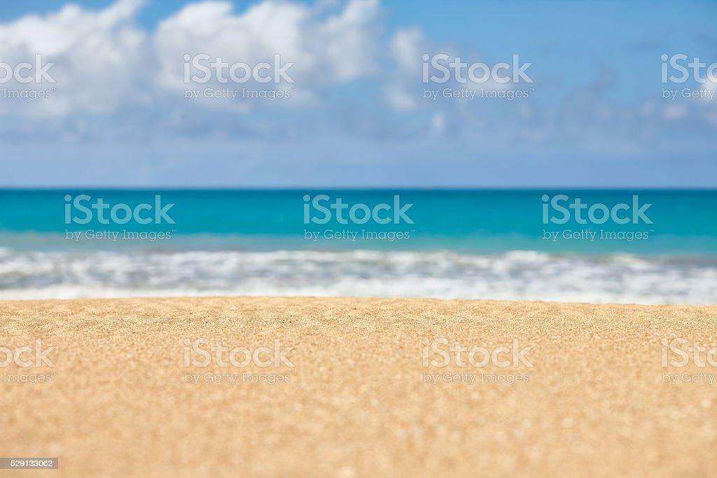 Blu Sfondo Di Mare E Sabbia Fotografie Stock E Altre Immagini Di