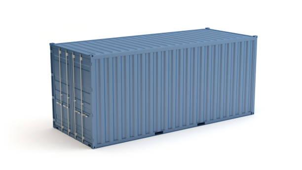 mavi deniz konteyner illüstrasyon - kap stok fotoğraflar ve resimler