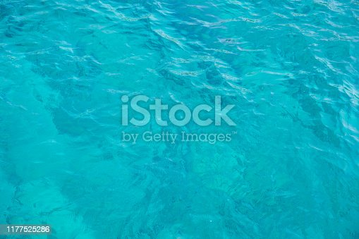959508862 istock photo Blue sea for background 1177525286
