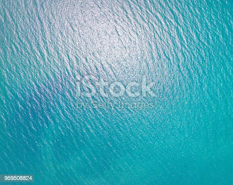 959508862 istock photo Blue sea for background 959508824