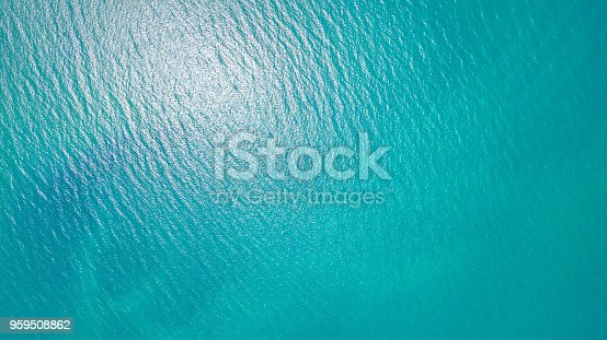 istock Blue sea for background 959508862