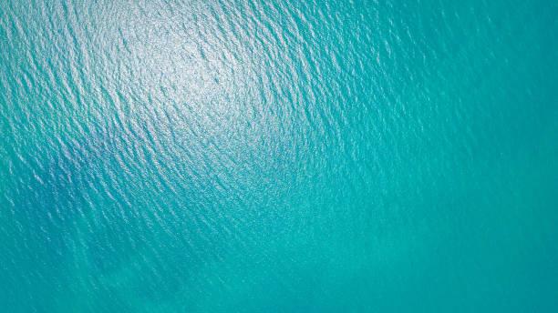 푸른 바다빛 배경 - 바다 뉴스 사진 이미지