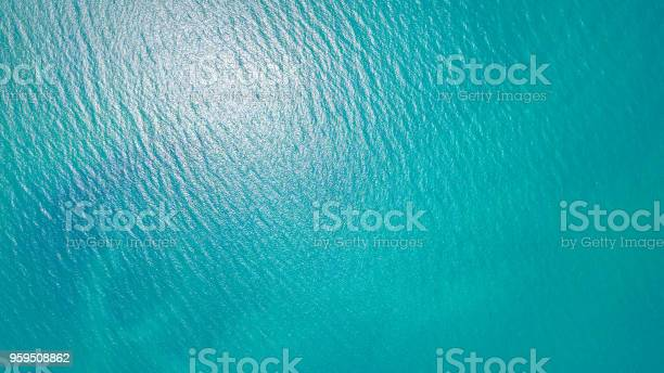 Photo of Blue sea for background