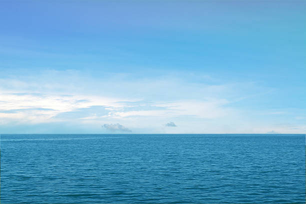 blue sea,  ocean background blue sea,  ocean background horizon over land stock pictures, royalty-free photos & images