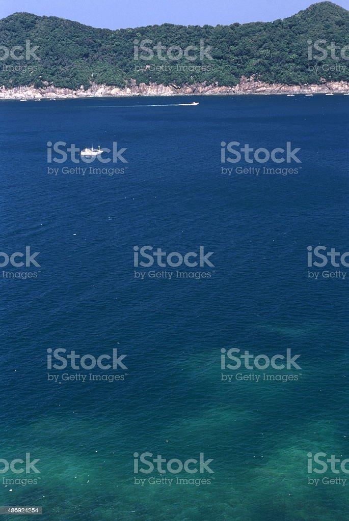 紺碧の海 ロイヤリティフリーストックフォト