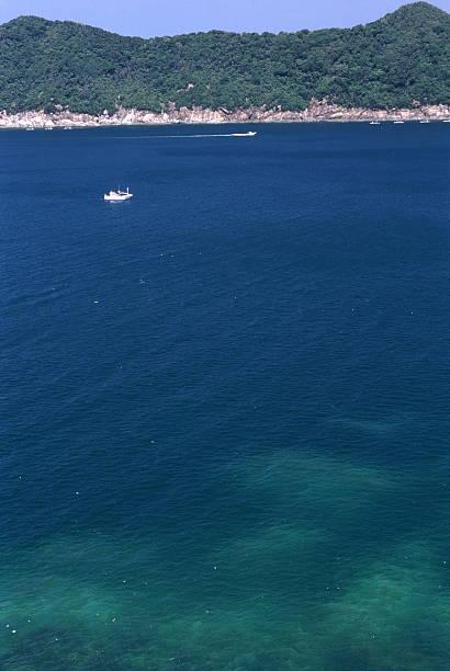 紺碧の海 ストックフォト