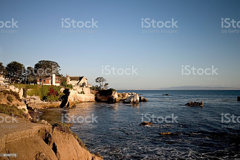 Blue sea royalty-free stock photo