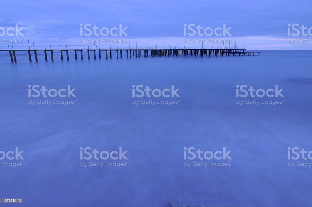 Blue Sea royalty-free stock photo
