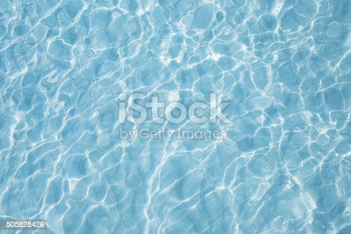 istock Blue sea surface with waves reflection aqua 505828426
