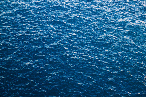 istock Blue sea water background, Atlantic 1136870172