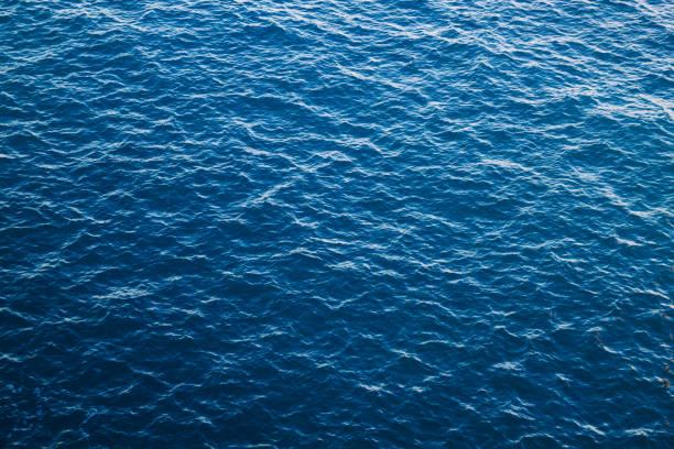 푸른 바다 물 배경, 대서양 - 물 뉴스 사진 이미지