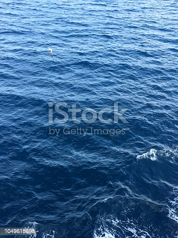 istock Blue sea water surface 1049618698