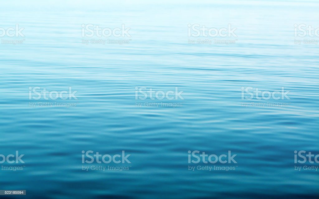 blue sea water texture background stock photo