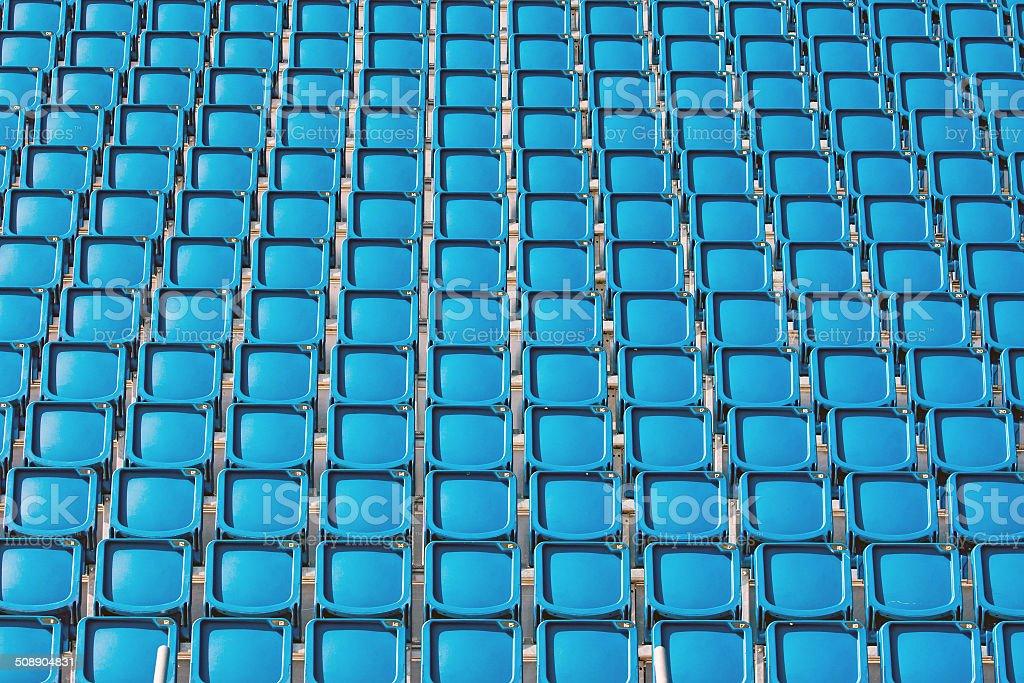 Blue für ein stadium – Foto