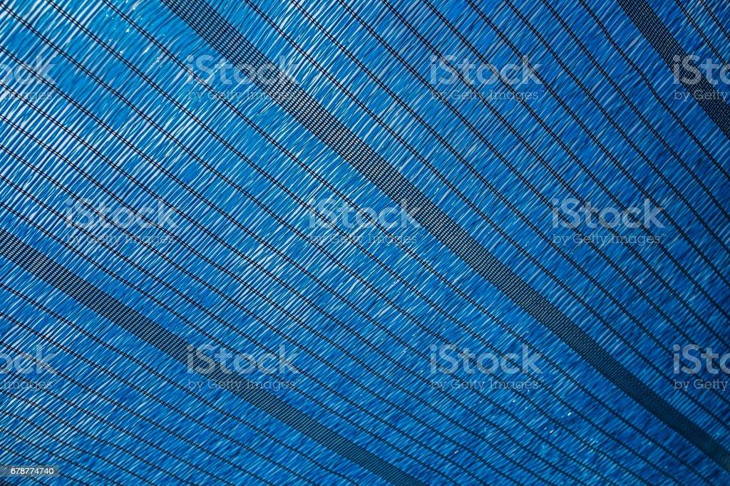 Blue shade stock photo