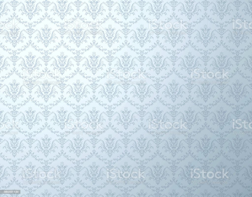 Blue shaded floral background pattern stock photo