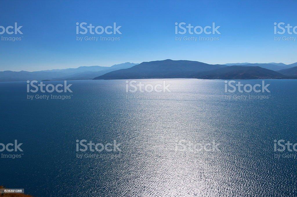 Blue Sheen stock photo