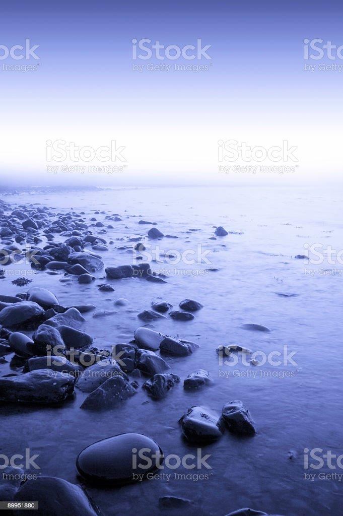 Blue Shores royalty-free stock photo