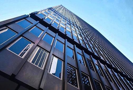 Blauwe Zijde Naar Boven Stockfoto en meer beelden van Architectuur