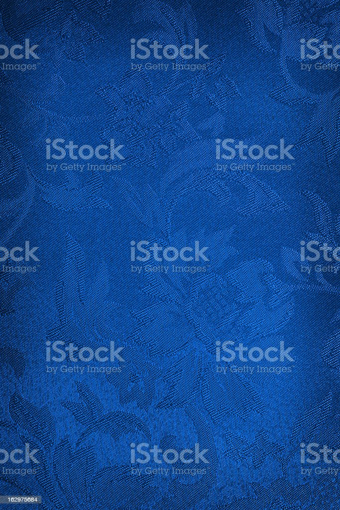 Blue Silk Background stock photo