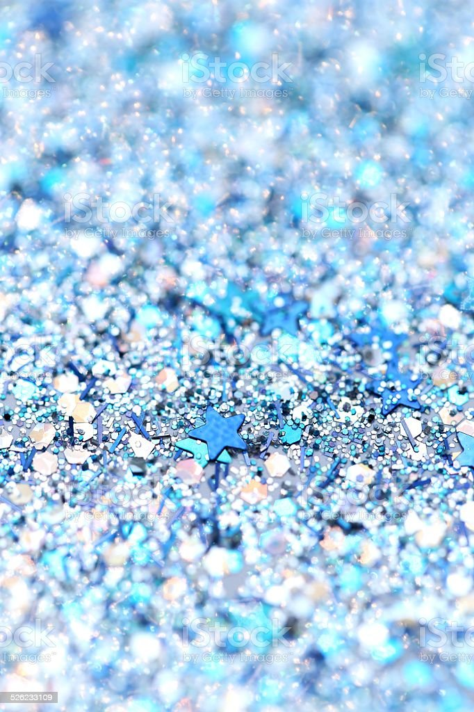 blue silver glitter background holiday christmas new year