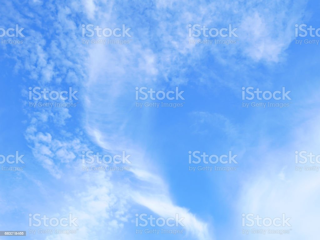 Blue skies and clouds 免版稅 stock photo