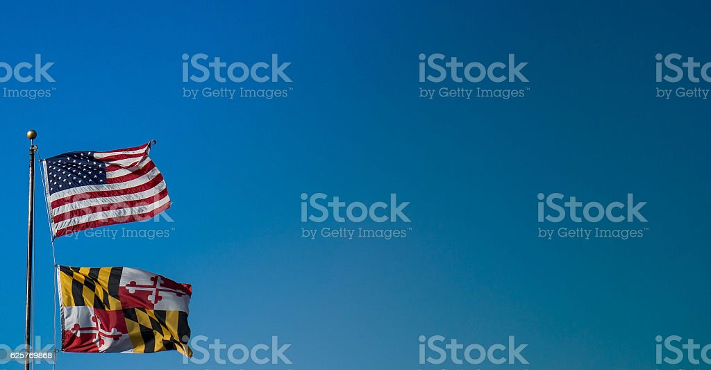 Blue Sky America stock photo