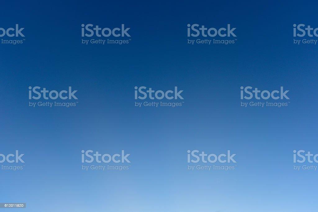 Ciel bleu et clair - Photo