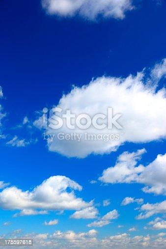 istock Blue Sky and Cloud 175597618