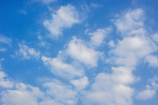 blue sky and cloud  texture background