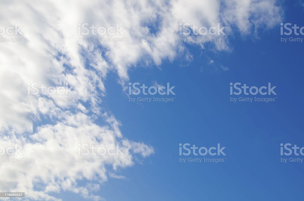 blue sky and clouds 10 XXL royalty-free stock photo