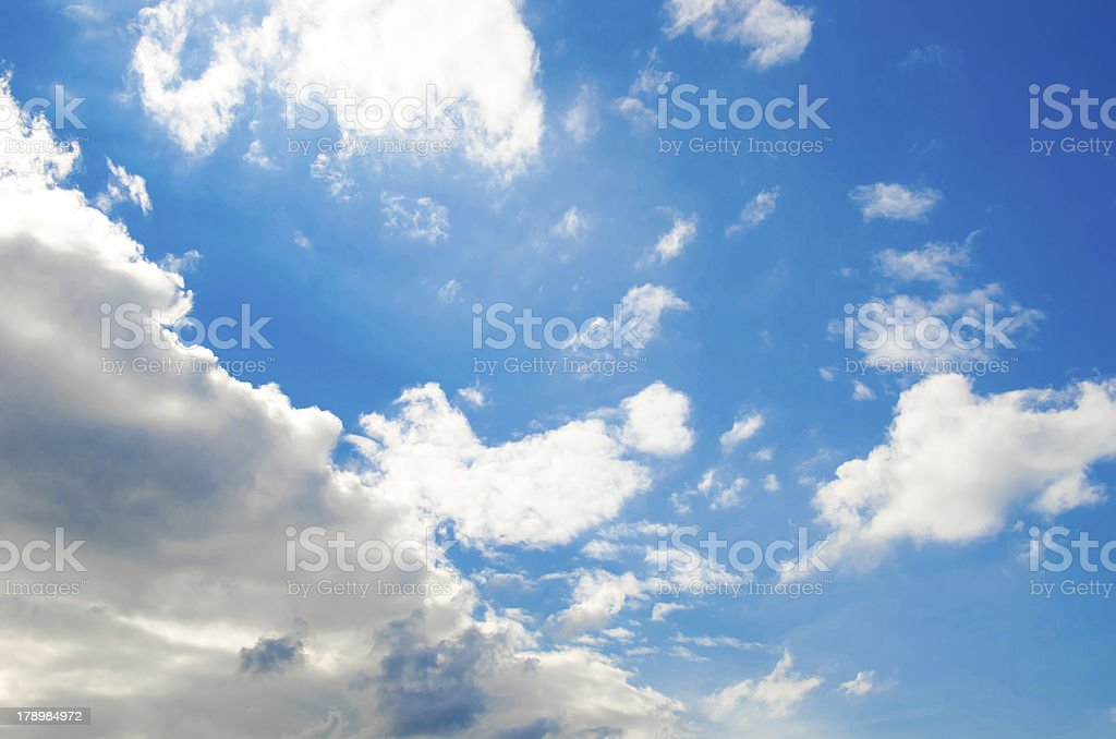 blue sky and clouds 7 XXL royalty-free stock photo