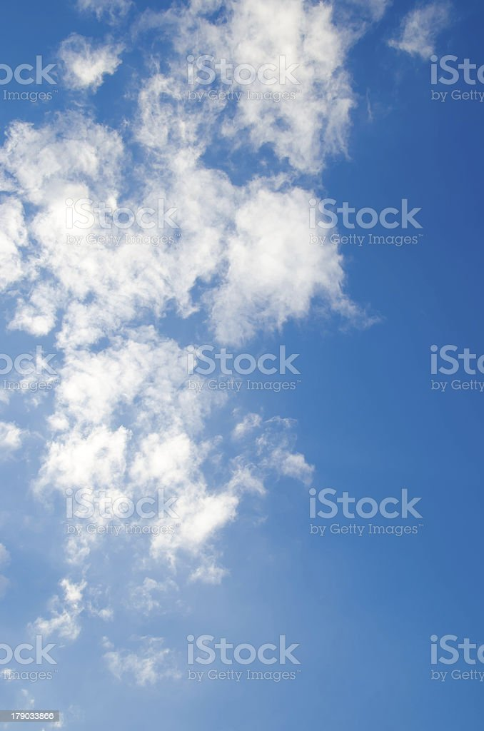 blue sky and clouds 8 XXL royalty-free stock photo