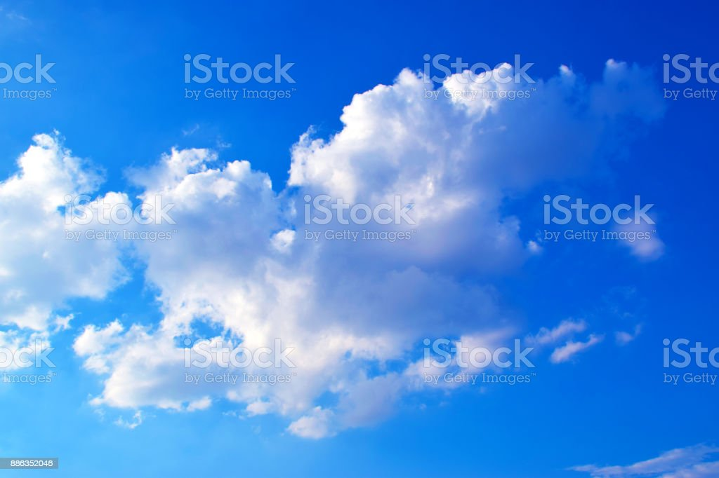 Blue sky and clouds background'n stock photo