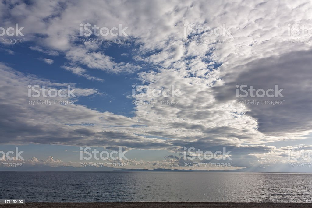 blue sky and clouds, outdoor photo beauty in nature royalty-free stock photo
