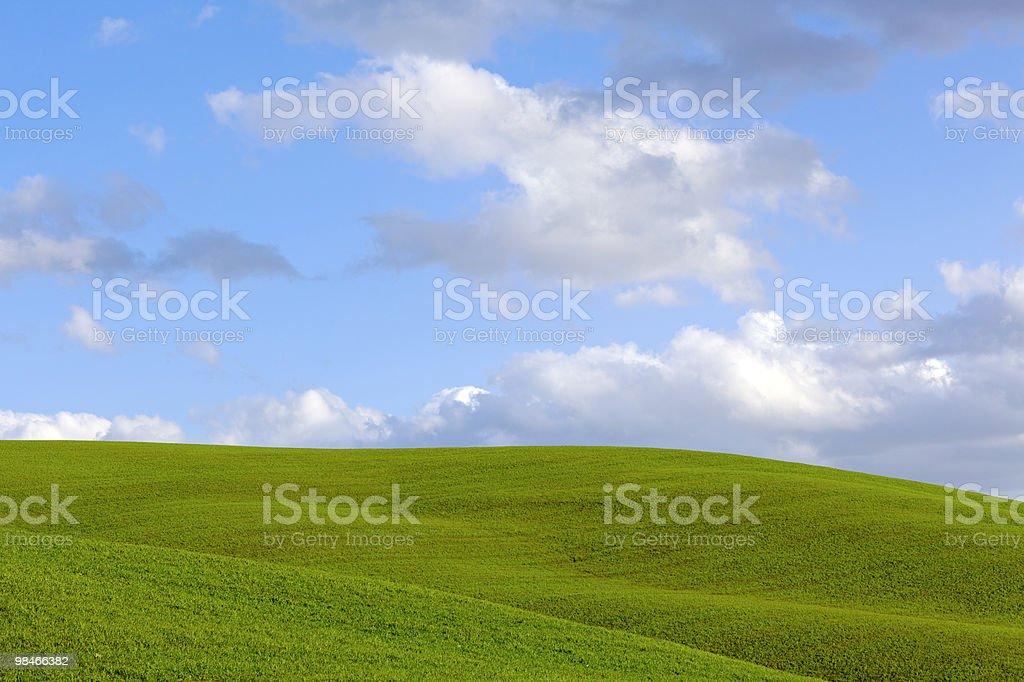 Cielo blu e nuvole foto stock royalty-free