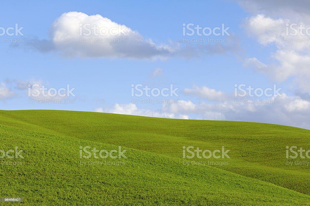푸른 하늘, 클라우드 royalty-free 스톡 사진