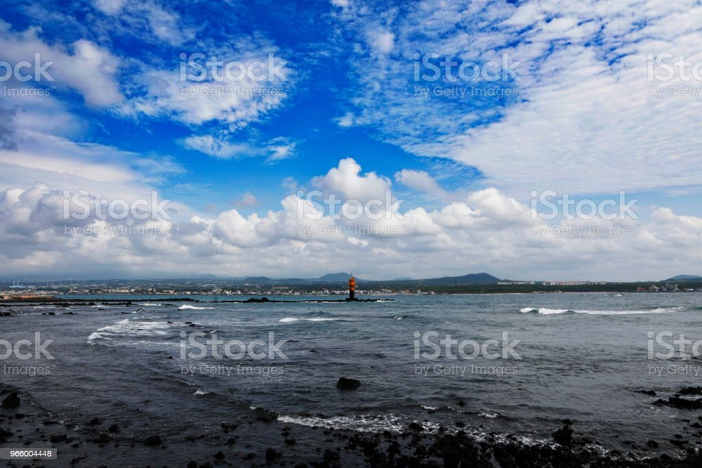 Blue sky and sea - Royalty-free Backgrounds Stock Photo